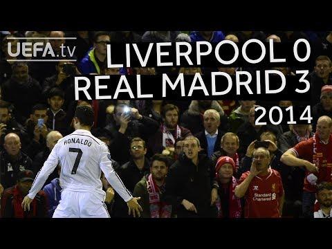 RONALDO, BENZEMA, COUTINHO: LIVERPOOL 0-3 REAL MADRID, 2014/15 CHAMPIONS LEAGUE