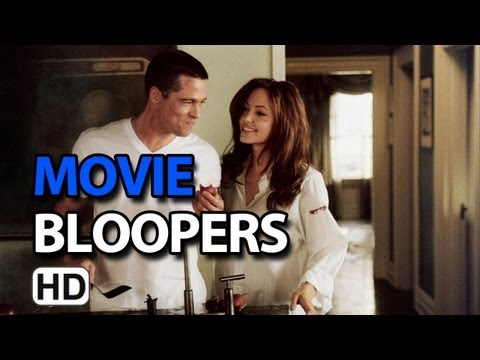 Mr. & Mrs. Smith (2005) Bloopers Outtakes Gag Reel