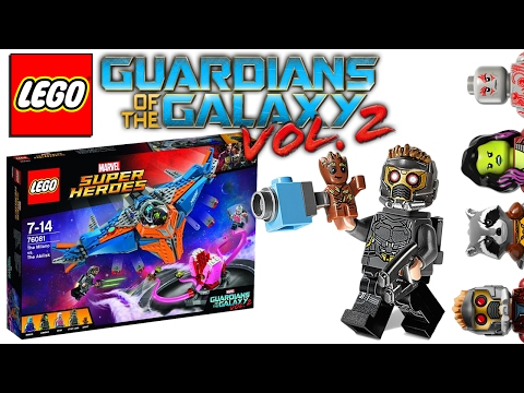 The Milano vs. The Abilisk (76081) - LEGO Стражи Галактики 2