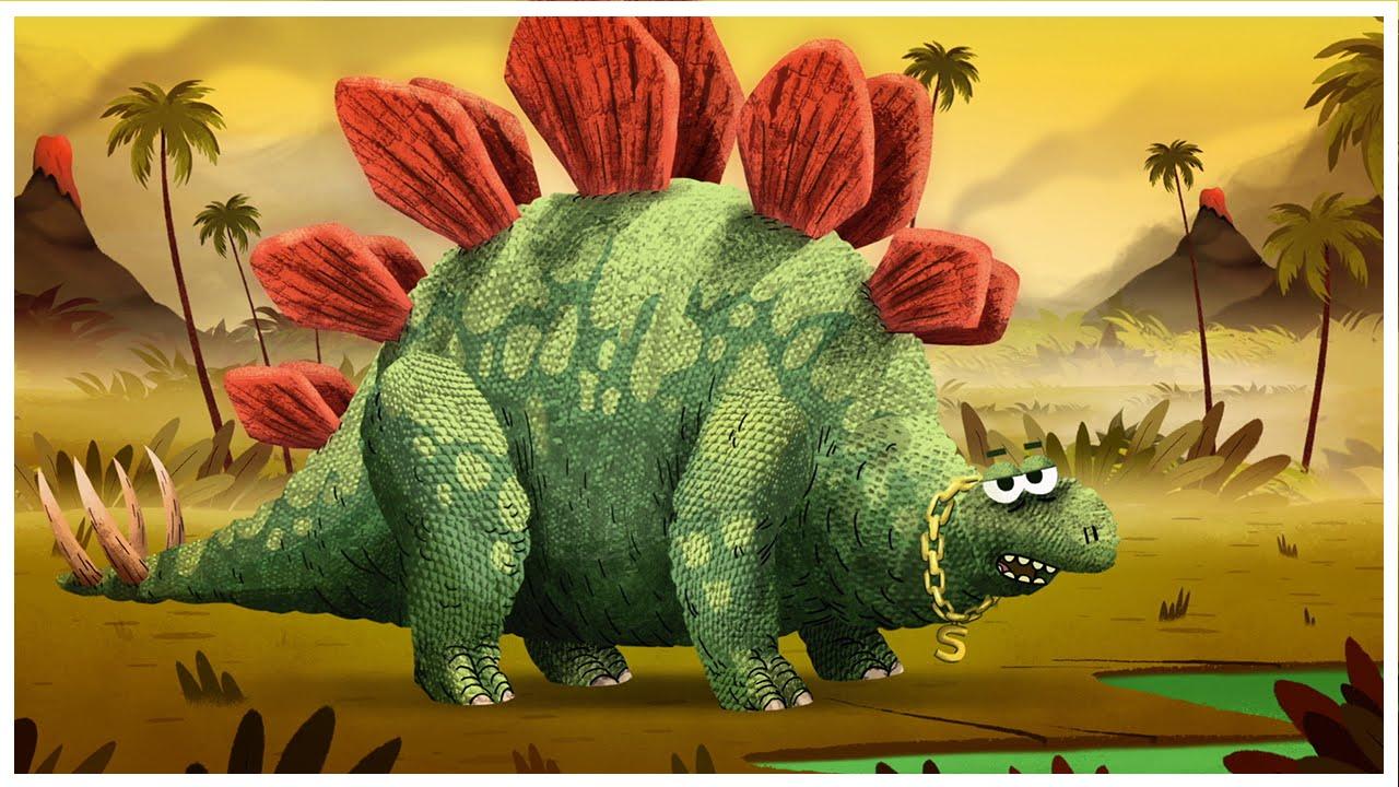 """Stegosaurus,"" Dinosaurs Songs by StoryBots - YouTube"