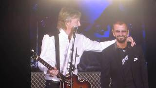 Paul McCartney and Ringo Starr performing Sgt. Pepper/Helter Skelter at Dodgers Stadium 7-13-19