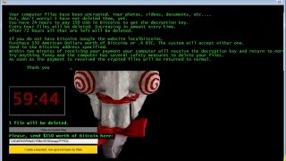"Windows Malware Series #2 - ""Jigsaw"" Ransomware (+Removal)"