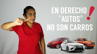 En Derecho AUTO no es un CARRO | La Iuris Vivi | #NosiempreSignficaLoMismo