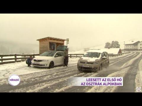 Leesett az első hó az osztrák Alpokban
