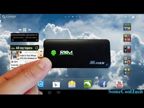 Rikomagic MK802 IV Quad Core Android Mini PC Review