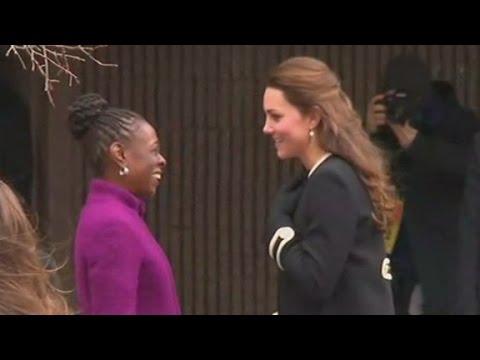 Kate attends child development event in Harlem