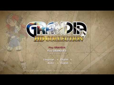 Grandia HD Collection Switch Footage - E3 2019