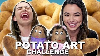 Potato Art Challenge - Merrell Twins