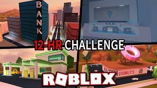THE PERFECT JAILBREAK DAY!!! #JailbreakChallenge (Roblox Jailbreak)