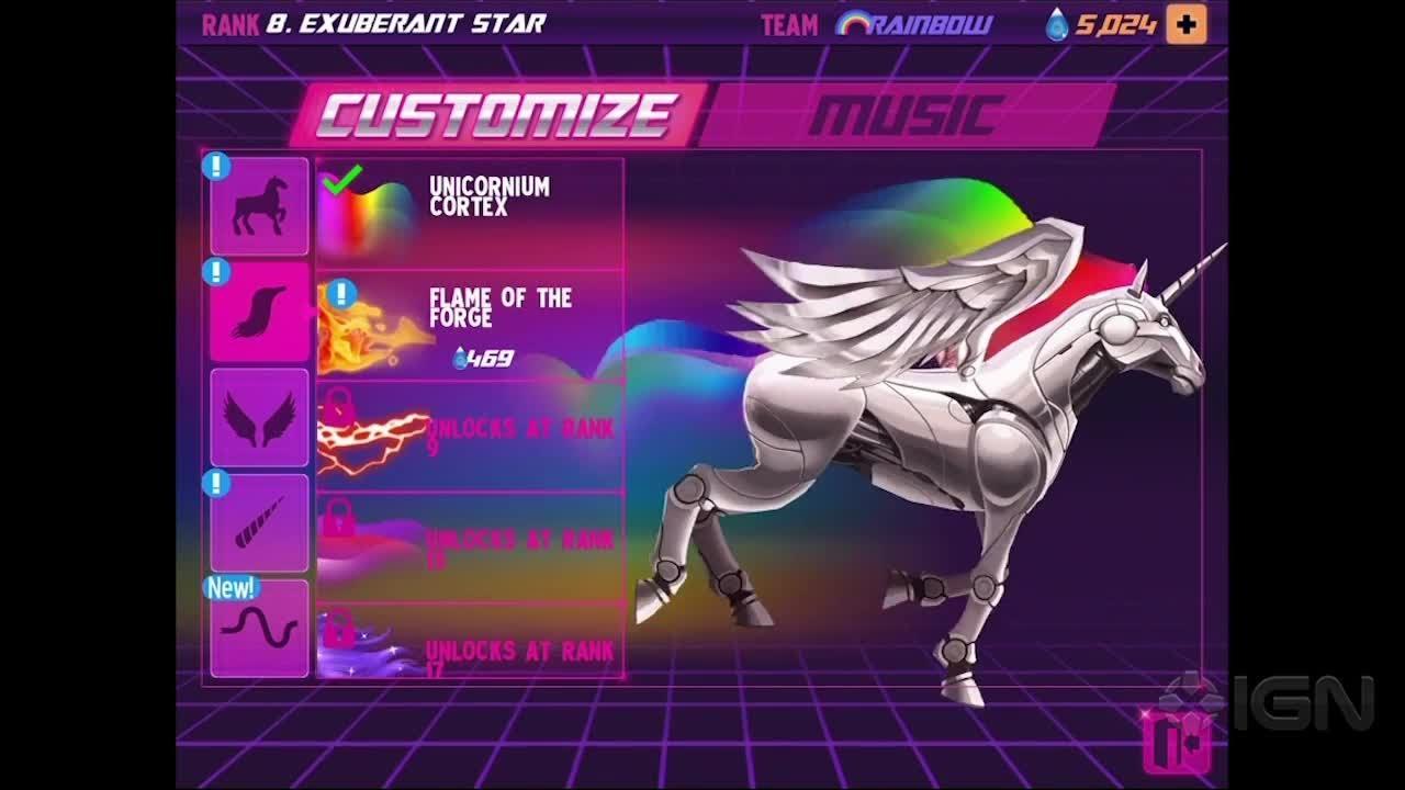 Real rainbow unicorn