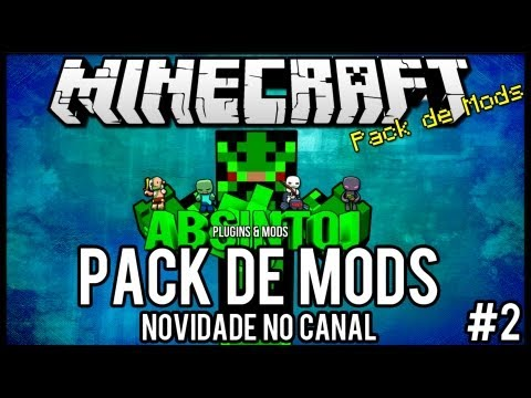 Pack de Mods #1 - 1.5.2 - Novidade no Canal Minecraft =]