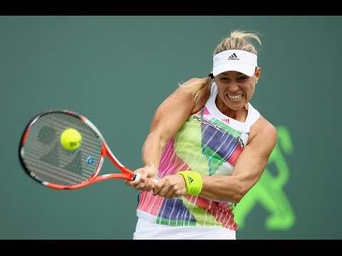 Miami Open Second Round | Angelique Kerber vs Barbora Strycova | WTA Highlights