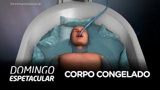 Brasileira ganha direito na Justiça para manter o corpo do pai congelado