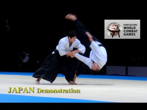 Aikido JAPAN -  SportAccord World Combat Games2013
