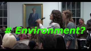 Clueless College Liberals STUNNED By Newt Gingrich On Environment
