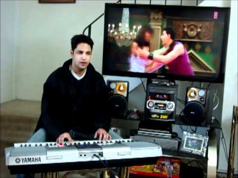 Tenu Main love karda On piano By Gaurav