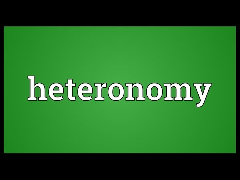 Header of heteronomy