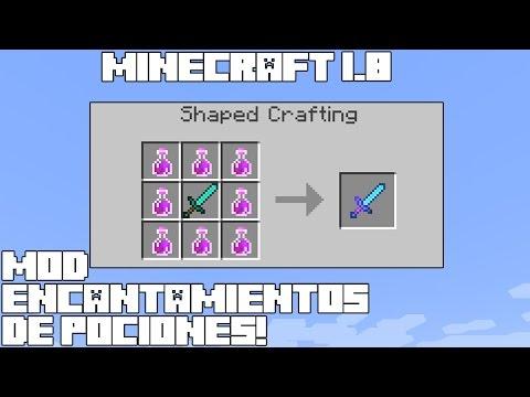 Minecraft 1.8 MOD ENCANTAMIENTOS DE POCIONES! Liquid Enchanting Mod Español!