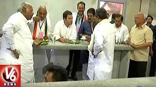 AICC President Rahul Gandhi Visits Sringeri Matam And Interacts With Students