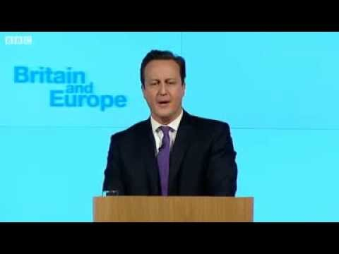 David Cameron speech- UK and the EU