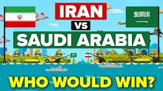 Iran vs Saudi Arabia - Who Would Win? (Military / Army Comparison)