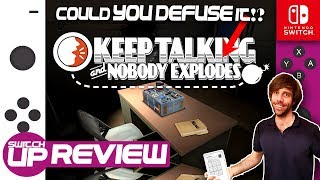 Best Co-op game on Switch? Keep Talking And Nobody Explodes Review
