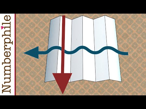 The Secret of Floppy Paper - Numberphile
