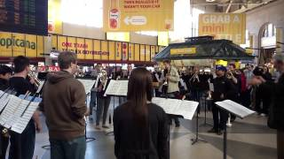 South Station Flash Mob Of Ravel 39 S Bolero