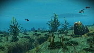 No Man's Sky [4K] (Underwater Life) [LIVE Wallpapers]