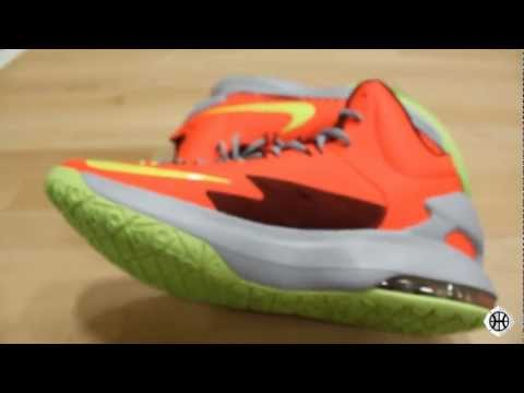 KD 5 Sneakers   Nike Kevin Durant V Close Up Review   KD V Sneakers