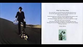 Download Lagu 𝙋𝙞𝙣𝙠 𝙁𝙡𝙤𝙮𝙙 : 𝙒𝙞𝙨𝙝 𝙔𝙤𝙪 𝙒𝙚𝙧𝙚 𝙃𝙚𝙧𝙚 1975 (𝙃𝙞𝙜𝙝 𝙌𝙪𝙖𝙡𝙞𝙩𝙮) Gratis STAFABAND
