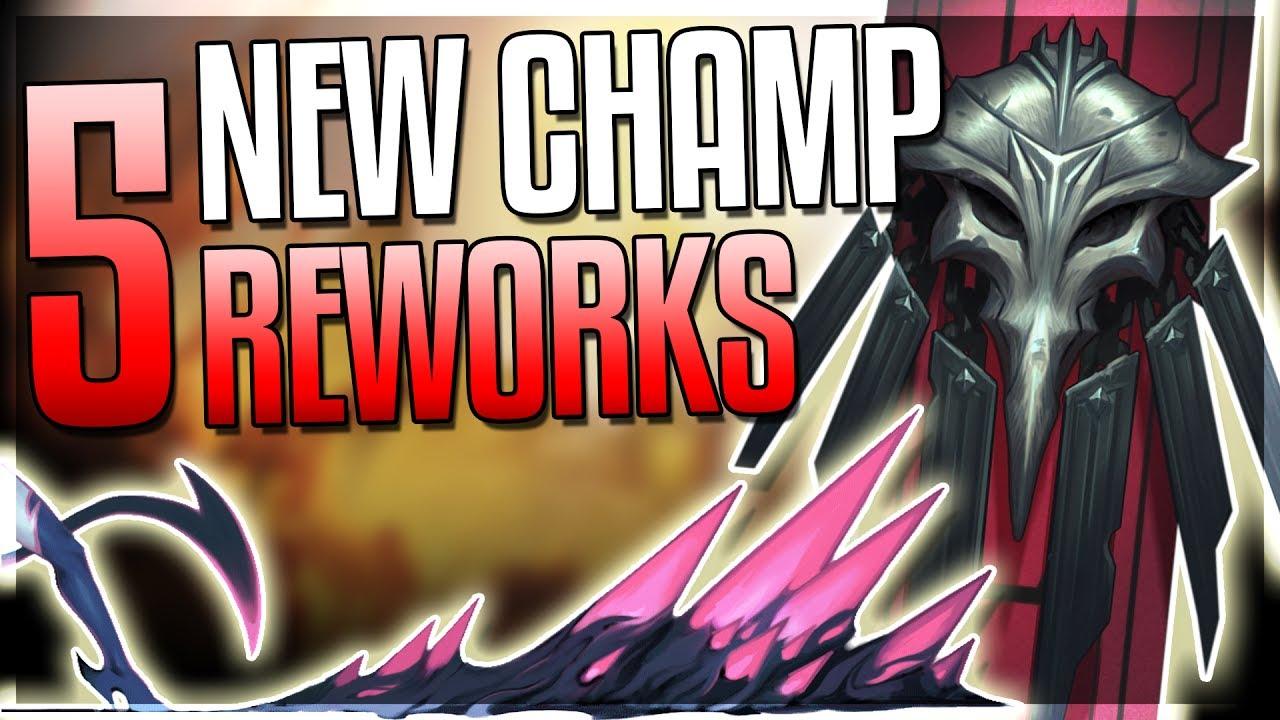 NEW CHAMPION & EVE TEASER!! SWAIN FULL VGU REWORK + 4 Reworks ANNOUNCED! - League of Legends