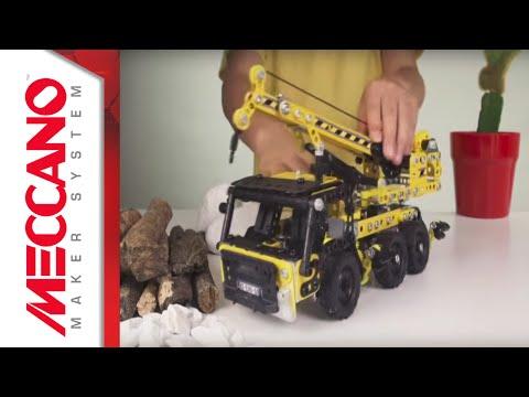 Meccano Evolution Crane Truck