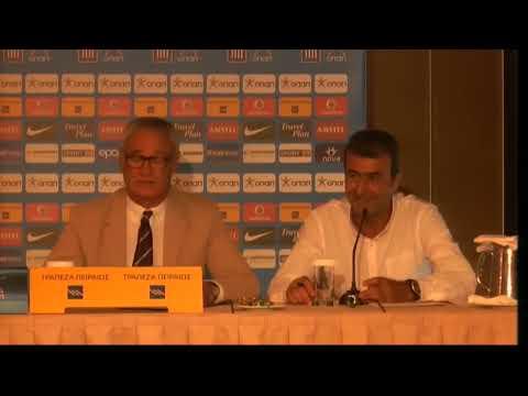 Παρουσίαση του Κλαούντιο Ρανιέρι | Claudio Ranieri: Official Presentation