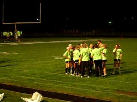 Galesburg Silver Streaks Powderpuff Cheerleaders 09-10 Video