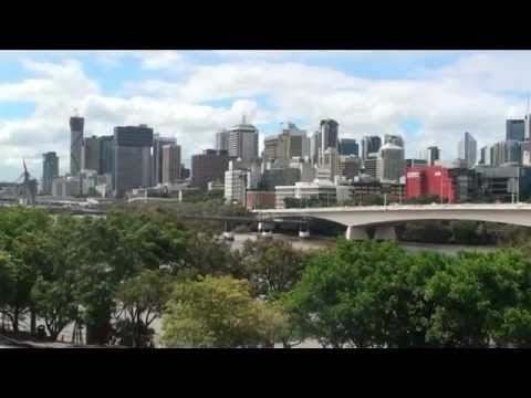 The Changing Brisbane Skyline Viewed From SouthBank Apartments
