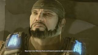Gears of War 3 - The Dom Beard Easter Egg