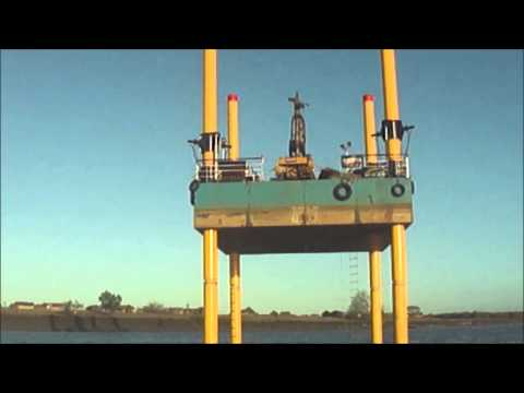GEOMA - JACK UP BARGE - OFF SHORE DRILLING