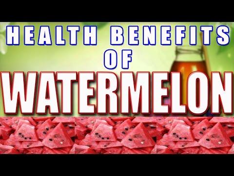 Health Benefits of Watermelon