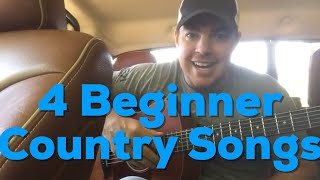 Download Lagu 4 Beginner Guitar Country Songs Easy to Play   Country Song Teacher Gratis STAFABAND