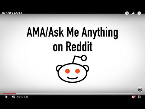 Reddit's AMAs