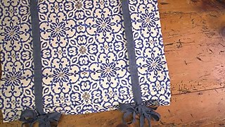 Sewing with Flames: Easy Custom Roman Shades