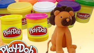 Play doh videos | How to make play doh animals | Make Lion | DNV play doh videos ice cream