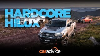 2018 Toyota HiLux Rugged, Rugged X and Rogue review