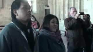 Izar Ederrak -- Philippine Madrigal Singers @ Abbey of Mont Saint Michel