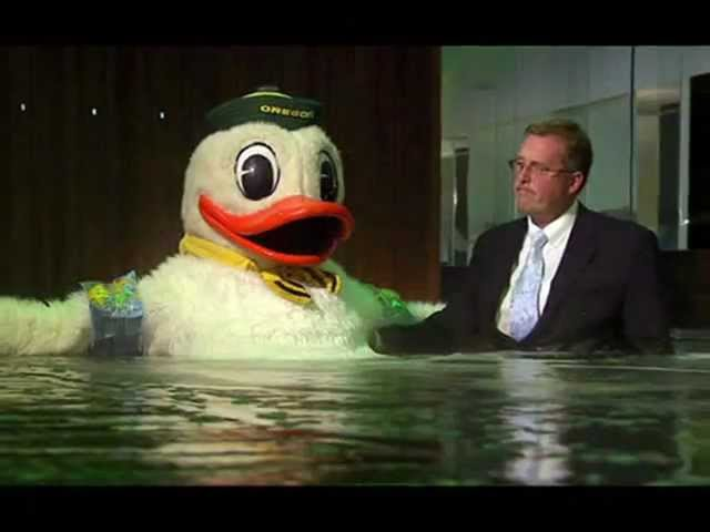 Oregon Mascot The Duck