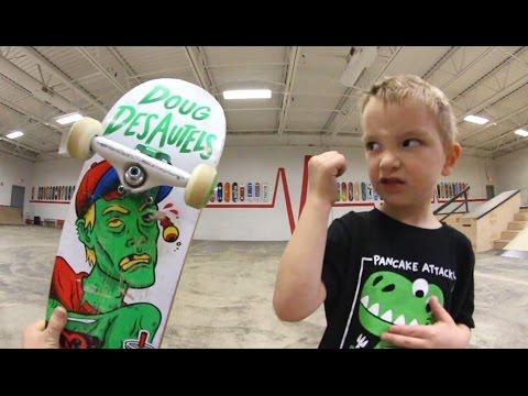 4 Year Old Versus Ollie!