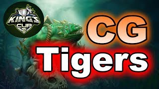 Tigers vs CG Hard Game King's CUP SEA Group Stage