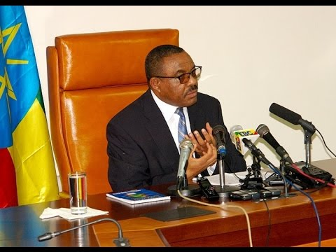 Ethiopian Prime Minister Hailemariam Dsealegn's Comment On Recent Ethiopia Protests