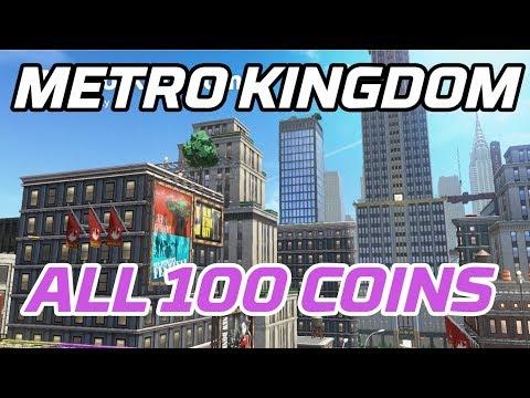 Super Mario Odyssey All Metro Kingdom Coins 100 Purple Local Coins